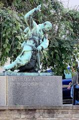 Denkmal für die Opfer des Weltkrieges in Kutná Hora / Kuttenberg.