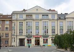 Wohnblock, Geschäftshaus - Art Deco Architektur in Hradec Králové