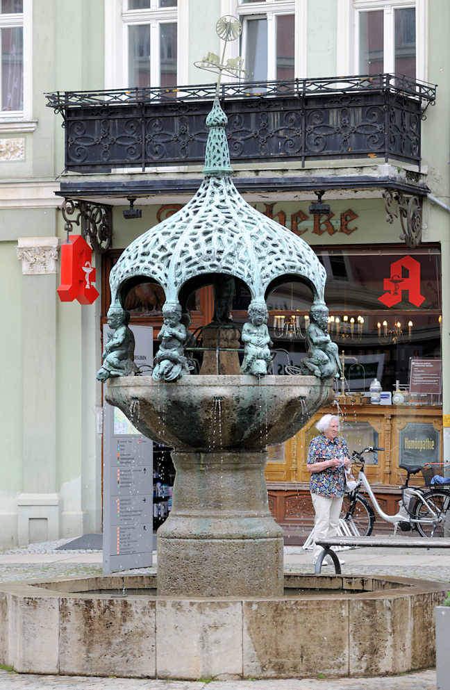 "Hansestädte: Foto ""Brunnen / Springbrunnen in der DSC_5672"