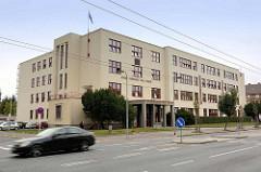 Gebäude Hochschule für Maschinenbau - Architektur der 1930er Jahre in Hradec Králové  / Königgrätz.