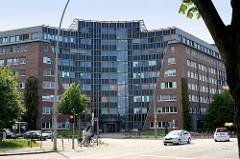 Ehem. Gebäude der Umweltbehörde in Hamburg Rothenburgsort / Billstraße.