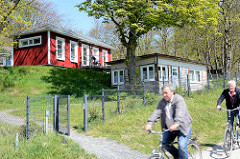 Schlichte Ferienhäuser - Ortsteil Kloster, Ostseeinsel Hiddensee - Mecklenburg-Vorpommern.
