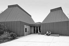 Kunstmuseum Ahrenhoop der Halbinsel Fischland-Darß-Zingst an der Ostsee; eröffnet 2013 - Entwurf von Volker Staab, Staab Architekten Berlin.