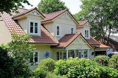Wohnhaus im Schwedischen Baustil / Skandinavisches Holzhaus in Wentorf bei Hamburg.