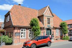 Historische Architektur in Bleckede, Brauhaus.