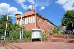 Stadthaus, Verwaltungsgebäude / Bürgeramt Mölln, Kreis Herzogtum Lauenburg.