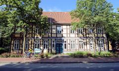 Elbtal-Haus in Bleckede - historische Fachwerkarchitektur