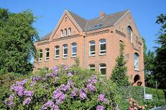 Schulgebäude ehem. Albinus Real Schule in Lauenburg - erbaut 1872.