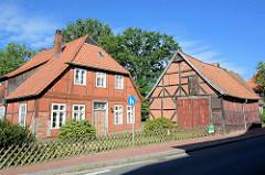 Fachwerkhaus mit Scheune - Architektur in Bleckede / Elbe.