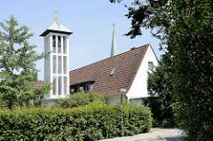 Ev. Martin Luther Kirche in Wentorf / Reinbeker Weg.