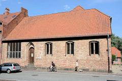 Nebengebäude vom Stadthauptmannshof in Mölln - Sitz der Lauenburgische Akademie für Wissenschaft und Kultur.