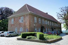 Amtshaus vom Lauenburger Schloss; erbaut 1708