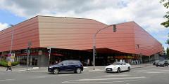 Einkaufszentrum EKZ Alter Sportplatz / Mühlencenter in Glinde, Möllner Landstraße.