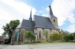 Kirche St. Nikolai in Eisleben - Spätgotik, erste Hälfte des 15. Jahrhunderts.