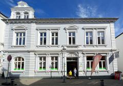 Historisches Kanzlei- und Wohngebäude, Architekturstil Neorenaissance - Gründerzeit, erbaut1895 / Hagenstraße in Bad Oldesloe.