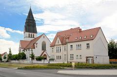 Katholische Kirche St. Gertrud in Eisleben, geweiht 1916.