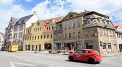 Geschäftsstraße in der Lutherstadt Eisleben - Plan.