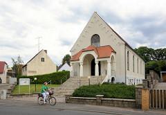 Neuapostolische Kirche in Coswig ( Anhalt ) - 1925 eingeweiht, Architekt der Coswiger Baumeister Dorn.