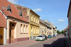 Wohnhäuser - Gründerzeitarchitektur in Aken, Elbe.