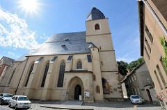 Taufkirche von Martin Luther in Eisleben - St. Petri-Paul-Kirche, spätgotische Hallenkirche.