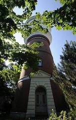 Der Bergedorfer Wasserturm wurde 1902 nach dem Entwurf des Bergedorfer Stadtbaumeister Carl Friedrich Dusi errichtet. Die Anlage war bis Anfang 1973 für die Wasserversorgung Bergedorfs in Betrieb.