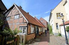 Fachwerkhaus / Bürgerhaus in der Heiligengeiststrasse von Bad Oldesloe.
