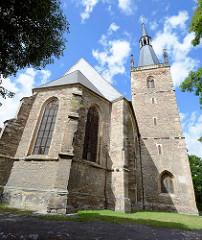 St. Annen Kirche - Bergmannskirche in der Eisleber Neustadt - 1608 fertiggestellt.