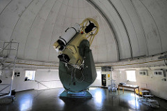 Teleskop - Kuppelgebäude der Hamburger Sternwarte in Bergedorf-