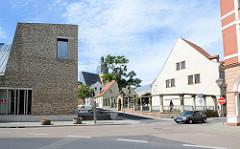 Lutherhausensemble in der Lutherstadt Eisleben; Besucherzentrum und Geburtshaus von Martin Luther.