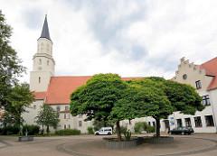 St. Nicolaikirche Coswig; ursprünglich im 12. Jahrhundert - jetziger Bau 1702 fertig gestellt.