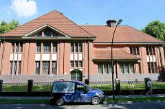 Gebäude Wasserwerk im Billetal von Hamburg Bergedorf, erbaut 1899.