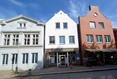 Wohn- und Geschäftshäuser - Hagenstraße in Bad Oldesloe.