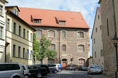 Historisches Gebäude vom Alten Gymnasium, gegründet von Martin Luther 1546.