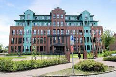 Verwaltungsgebäude einer Reederei - erbaut 2009, Architektur Entwurf Ingenierbüro Nagel.