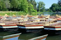 Gondelhafen auf dem Wörlitzer See -