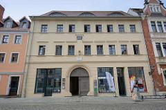 Geburtshaus vom Professor der Physik und Erfinder der elektrischen Telegraphie Wilhelm Eduard Weber in Lutherstadt Wittenberg.