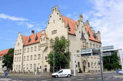 Gebäude vom Amtsgericht Lutherstadt Wittenberg.
