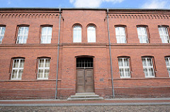 Historisches Schulgebäude - Backsteinarchitektur in Wörlitz.