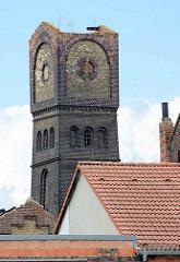 Industrieruinen am Industriehafen der Lutherstadt Wittenberg