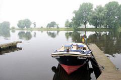 Sportboothafen / Gastlieger - Sportboothafen an der Eider.