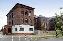 Backsteingebäude / Polizeirevier Lutherstadt Wittenberg.