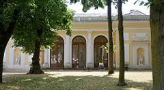 Küchen- und Wirtschaftsgebäude vom Wörlitzer Schloss, Verbindung durch einen unterirdischen Gang.
