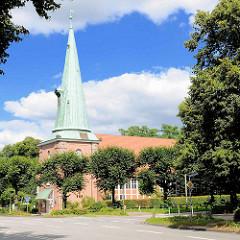 St. Johanniskirche in Hamburg Eppendorf - erstmals 1267 urkundlich erwähnt.