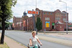 Ehem. Fabrikgebäude / Eisenwerk an der Dessauer Straße von Wittenberg; Backsteinbau mit Jugendstilformen.