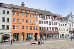 Bürgerhäuser am Markt von Lutherstadt Wittenberg  - Wohnhäuser / Geschäftshäuser.