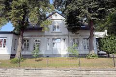 Historisches Wohnhaus an der Ulmenliet in Hamburg Lohbrügge.