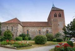 Romanischen Stadtkirche St. Georg in Arneburg.