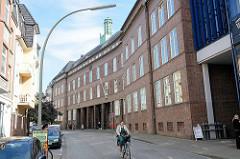 Gebäude Amtsgericht Hamburg Bergedorf, erbaut 1927 - Pläne Hamburger Oberbaudirektor Fritz Schumacher.