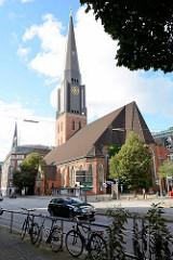 Hauptkirche St. Jacobi an der Steinstraße in der Hamburger City.