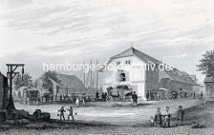 Kaufhaus in Harburg - Speicher am Kaufhauskanal.